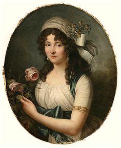Portrait of a Lady, Marie Victorie Lemoine