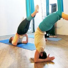 Antigravity Yoga. I'd like to try this.
