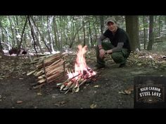 Council Tool Boys Axe, Mora Companion MG, MSR Seagull Pot and a Bushcraft Breakfast - YouTube