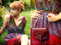 Primark Dress, Vera Pelle Bag