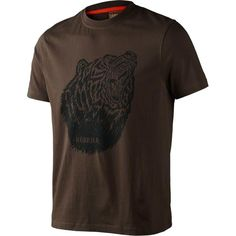 Harkila Fjal T-Shirt #harkila #tshirt #hunting #bear #shooting #country #outdoor #SS16 #brown