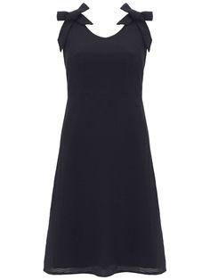 Mint Velvet Navy Striped Cotton Dress - House of Fraser 0e541e84b