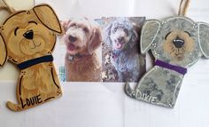Your DogsHand Painted/Personalized & Customized by CluckandStrut