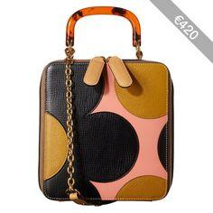 Applique Flower Leather Bethan Bag
