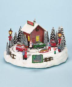 Christmas Tree Farm Music Box