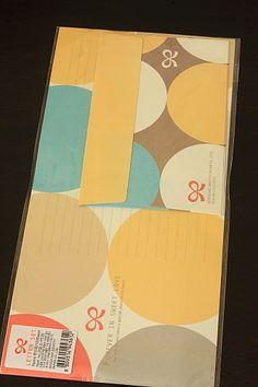 design & identity letter sets, £4.50
