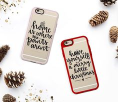 Having so much fun lettering holiday designs for my @Casetify store! If you have any requests/suggestions now's the time to let me know!  by by.samantha