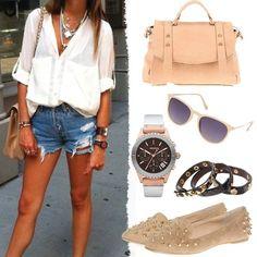 Sokak stilinizin vazgeçilmezi denim şortlarınızı uçuk pembeler ile kombinleyin! www.boyner.com.tr #love #fashion #style
