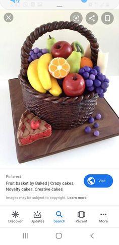 Cake Designs, Serving Bowls, Basket, Fruit, Tableware, Dinnerware, Tablewares, Dishes, Place Settings