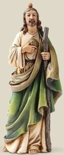 Patron of Hopless Causes Saint St Jude Statue Figure 6 Inch