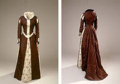 Historicistisk kjole, 1893 fancy dress