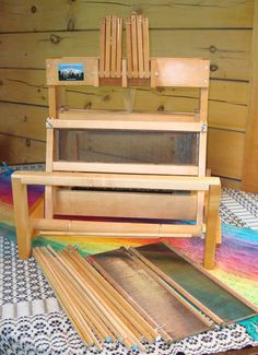Used Table loom  15 1/2 inches wide  Schacht 8 by maverickson, $535.00