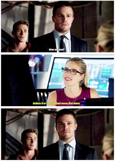 Oliver and Felicity #Arrow