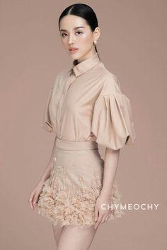 Cherry-Ney set from Hijab Fashion, Runway Fashion, Korean Fashion, Girl Fashion, Fashion Dresses, Womens Fashion, Fashion Design, Latest Outfits, Party Fashion