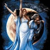 Art maiden mother crone wicca