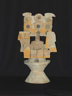 Pre-Columbian Incensario Figure