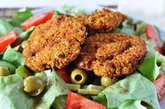 Rote-Linsen-Quinoa-Burger