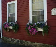 Marblehead window boxes
