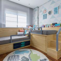 I want this bedroom! A room should never allow the eye to settle in one place. It should smile at you and create fantasy home decor decoration salon decoration interieur maison Baby Bedroom, Girls Bedroom, Room Baby, Shared Bedrooms, Kids Room Design, Trendy Bedroom, Small Rooms, Girl Room, Decor Room