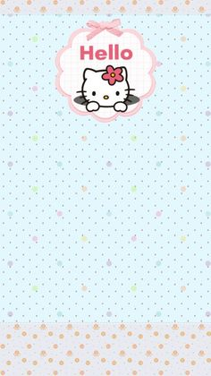 Kitty Images, Hello Kitty Wallpaper, Stationery, Friends, Wallpapers, Illustration, Flower Designs, Paper Envelopes, Libros