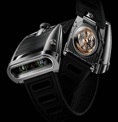 Montre MB&F HM5 Horological Machine N°5 « On the Road Again »
