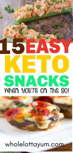 15 easy Keto snacks when you're on the go or need easy Keto recipes for lunch or for low carb meal prep. 15 easy Keto snacks when you're on the go or need easy Keto recipes for lunch or for low carb meal prep. Keto Foods, Ketogenic Recipes, Keto Recipes, Ketogenic Diet, Good Keto Snacks, Healthy Snacks For Diabetics, Healthy Desserts, Crockpot, Snacks