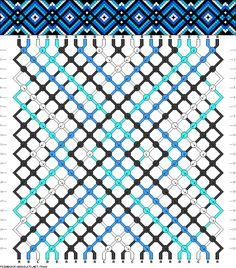 Muster # 75992, Streicher: 22 Zeilen: 22 Farben: 4