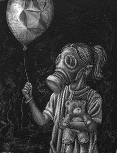 shit world Dogs pet world Gas Mask Drawing, Gas Mask Art, Masks Art, Gas Masks, Creepy Drawings, Art Drawings, Tattoo Mascara, Arte Lowrider, Post Apocalyptic Art