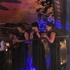 "The ""I do crew"" #bridesmaids #toast #weddings #artdeco @thethaxtonstl"