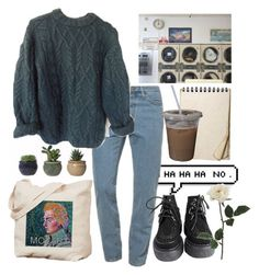 A fashion look from October 2014 featuring American Apparel, creeper boots and pink purse. Browse and shop related looks. Grunge Outfits, Fall Outfits, Casual Outfits, Fashion Outfits, Fashion Goth, Vintage Outfits, Retro Outfits, Aesthetic Fashion, Aesthetic Clothes