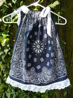 Clearance Sale Bandana Pillowcase Dress/ Swing by BandannaMommas