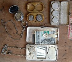 antique coin holders
