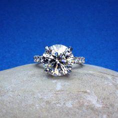 Blindingly gorgeous! #bling #shapirodiamonds #diamondring #diamonds #beauty