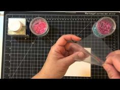 JJ Bolton ~ Using We R Memory Keepers Fuse Tool to Create a Shaker Card - YouTube