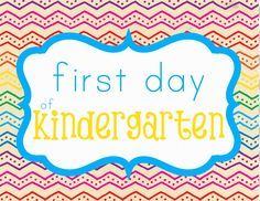 First day of school signs: Pre-K through 12th Grade