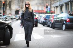 Olivia Palermo is seen, after the Roland Mouret show, during Paris Fashion Week, Womenswear Fall Winter 2016/2017, on March 6, 2016 in Paris, France.