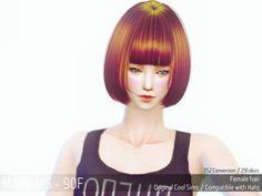 Mayims: TS4 Hair - May_TS4_Hair90F