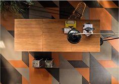 Combina la innovación tecnológica y las técnicas artesanales originales. #diseño #arquitectura #interiorismo http://www.neoceramica.es/