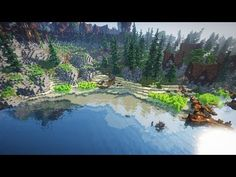 Building a Coast in Minecraft 🔴 BuildBattle Minecraft Tree, Minecraft Bridges, Minecraft Medieval, Minecraft Videos, How To Play Minecraft, Minecraft Buildings, Minecraft Designs, Minecraft Creations, Minecraft Projects