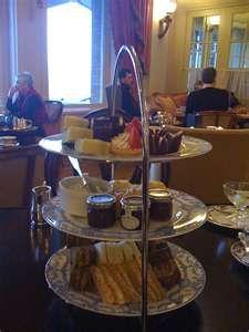 The tea food caddy...Empress Hotel, Victoria Canada