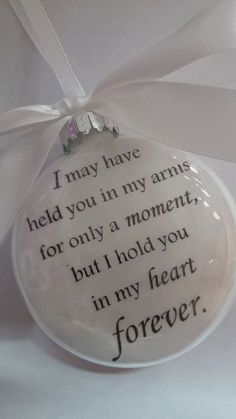 OOHHH I LOVE THIS ORNAMENT, MAYBE SOMEDAY: Glass In Memory Miscarriage Loss Child by ShopCreativeCanvas ETSY