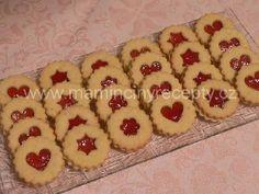 Ořechové linecké – Maminčiny recepty Cookies, Desserts, Food, Crack Crackers, Tailgate Desserts, Deserts, Biscuits, Essen, Postres