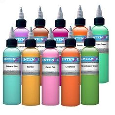 Moms Tattoo Ink, Best Tattoo Ink, Tattoo Ink Sets, Mom Tattoos, Eternal Tattoo Ink, Tattoo Ink Colors, Tattoo Supplies, Water Bottle, Stones And Crystals