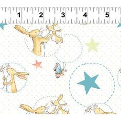 50cm Guess How Much I Love You cotton print fabric Y1767-1 £6.00
