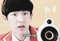 Exo's KFC cutie alarm/ringtone! Chanyeol
