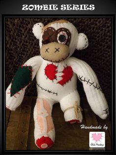 Daryl  The original 100% hand stitched handmade by ChikiMonkeys
