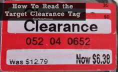 How to Shop Target Clearance by reading tags and knowing the schedule | #target #deals #clearance www.pennypinchinmom.com   http://www.pennypinchinmom.com/target-clearance-shopping-tips-and-secrets/
