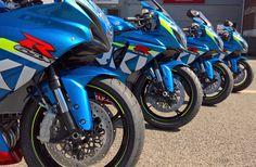 Gixer GPs all ready for their excited owners :) #Suzuki #GSXR #MotoGP @suzukibikesuk http://ift.tt/2apOKYE