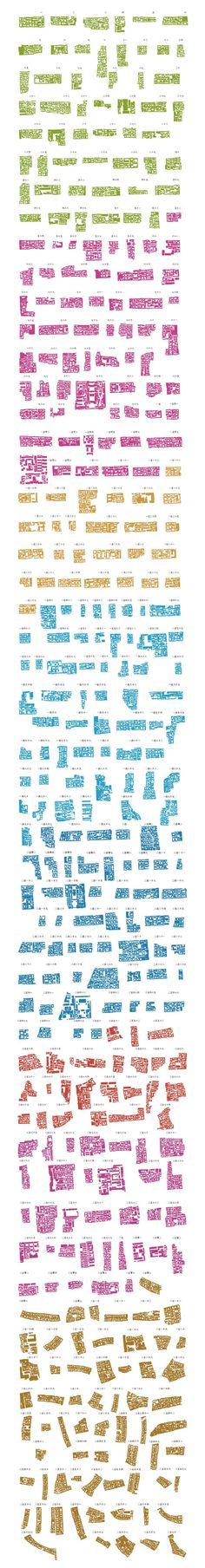 """Patterns of urban form. """"Part of Instant Hutong's Community Catalogue 2007, a…:"""