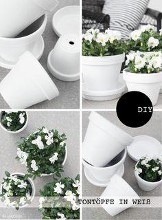 Pimp my flower pot / Upcycling